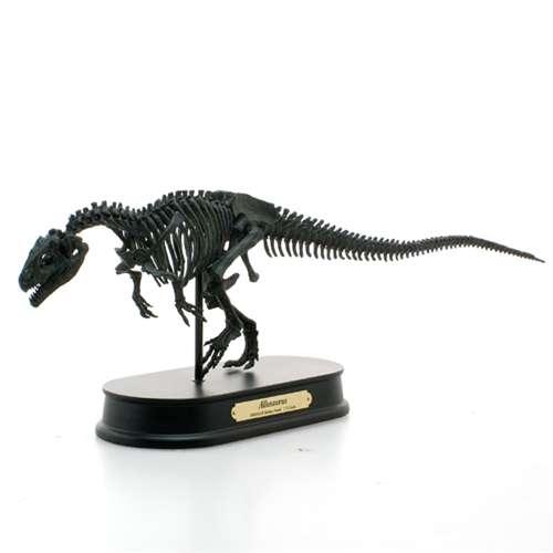 【送料無料】骨格フィギュア アロサウルス ブラック 最高峰 スケルトンモデル 恐竜グッズ 【取寄品】【プレゼント】【バースデー 誕生日ギフト】【入園祝い 入学祝い】 【のし利用可】