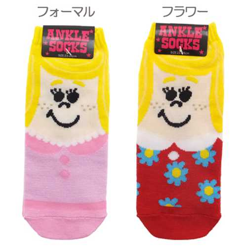 The affordable price socks mail order that has a cute ankle socks ◎ GIRL/ girl ☆☆●