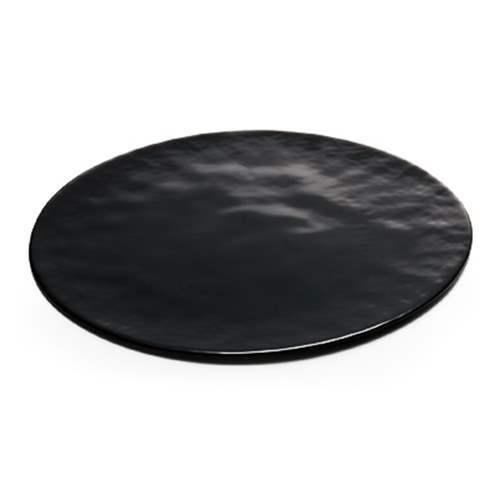 ガラス皿350 3枚セット プレート Flat Plate ブラック アデリア 直径35cm 丸皿 日本製石塚硝子通販 【取寄品】【プレゼント】 【のし利用可】【結婚祝い】【引越し祝い 新築祝い 開業祝い】【送料無料】