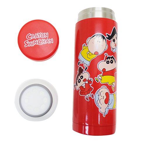 不銹鋼瓶水壺蠟筆shinchan巧克力二朋友喜劇shinchan小行星啤酒杯瓶350ml郵購