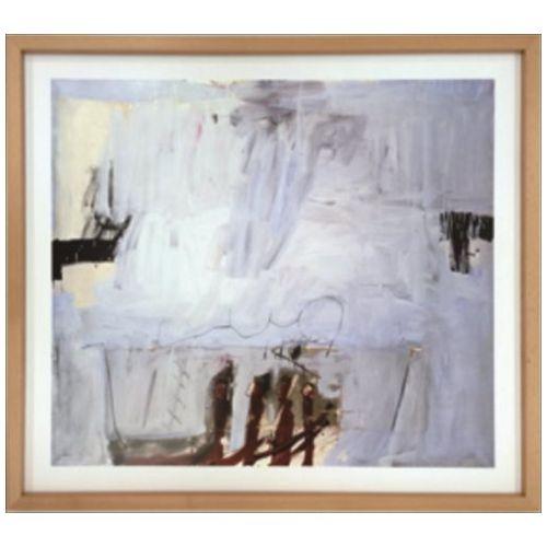 【送料無料】スカンジナビア ART インテリア アート Antonio Tapies Blau mit vier roten Staben 1966 美工社 71×63.5cm 壁掛け 額付き通販 【取寄品】【プレゼント】ベルコモン【結婚祝い】【引越し祝い/新築祝い/開業祝い】