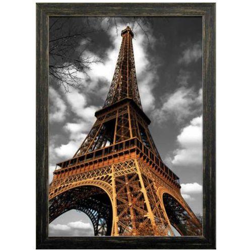 【送料無料】立体 ART インテリア アート 3D Poster Eiffel Tower 1 美工社 57.4×77.4cm 壁掛け 額付き写真 【取寄品】【プレゼント】【結婚祝い】【引越し祝い/新築祝い/開業祝い】【全品ポイント10倍】3800円で送料無料クーポン4/16深夜2時まで