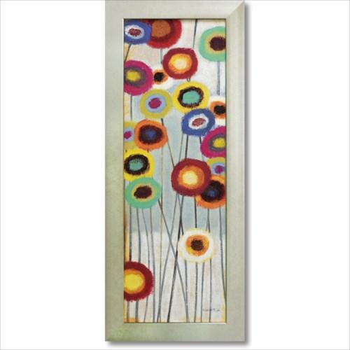 絵画 額縁つき Art Frames ファンフローラル2 フラワー アート ノーマン ワイアット ジュニア 花 額付 ポスター インテリアグッズ 取寄品