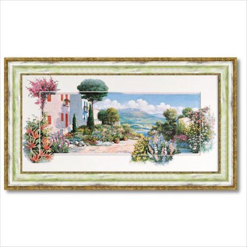 アートフレーム ラーゴディマッジョーレ1 ピーター モッツ 風景画 ギフト 額付きポスター インテリアグッズ 取寄品
