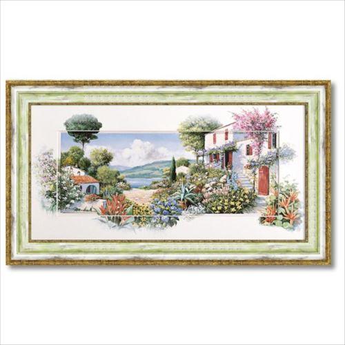 アートフレーム ラーゴディマッジョーレ2 ピーター モッツ 風景画 ギフト 額付きポスター インテリアグッズ 取寄品