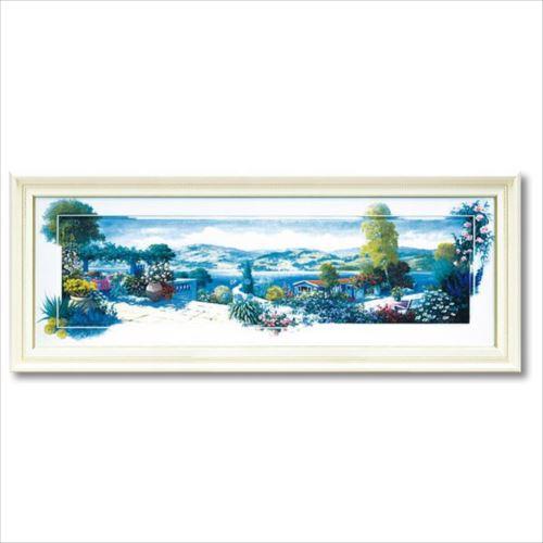 アートフレーム パノラマテラス1 Lサイズ ピーター モッツ 風景画 額付きポスター インテリアグッズ 取寄品