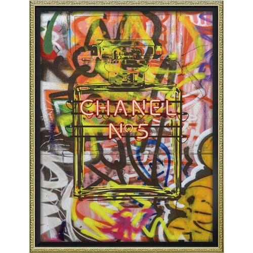 ブランド キャンバスアート グラフィティ パフューム2(Mサイズ) アマンダ グリーンウッド インテリアパネル 43.5x56.5cm 額付き ポスター インテリアグッズ 取寄品