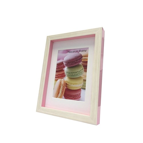 激安通販販売 Macaron frame マカロン フレーム 新色追加 フォトフレーム Pink 2L L判サイズマット付 取寄品 装飾インテリア 15.3x20.5x2.5cm ギフト 15.3×20.5×2.5cm 美工社 ベルコモン マット付き