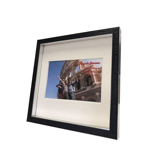 Regalo frame レガーロ フレーム フォトフレーム 人気急上昇 Silver 200x200mm ハガキサイズマット付 取寄品 ベルコモン 装飾インテリア 22.3×22.3×2. 優先配送 22.3x22.3x2.5cm マット付き ギフト 美工社