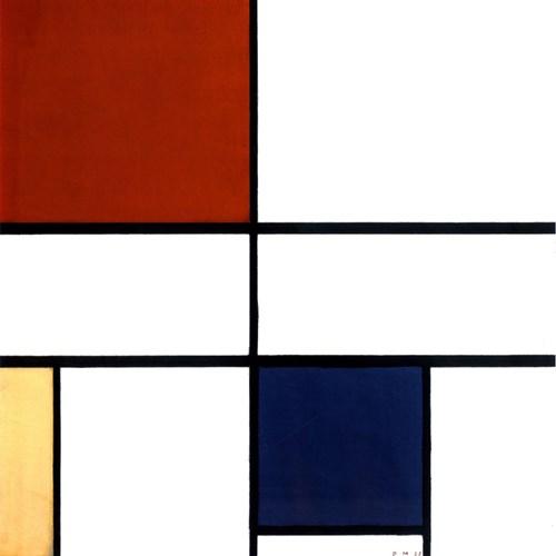 Art Panel モダン アート アートパネル Mondrian 美工社 フレームレス ギフト 装飾インテリア 取寄品 【プレゼント】ベルコモン