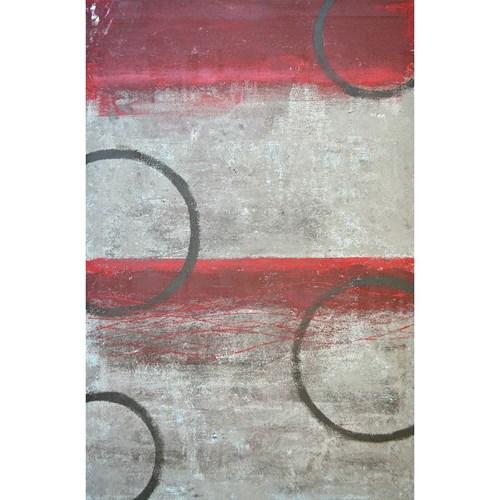 Art Panel モダン アート アートパネル Red and Blue Abstract Art Painting 美工社 フレームレス ギフト 装飾インテリア 取寄品 ベルコモン