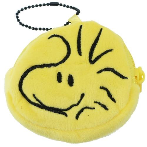 ぬいぐるみ 小銭入れ コインケース スヌーピー ウッドストック ピーナッツ メール便可 低価格化 [正規販売店] 7×6×2cm ミニポーチ 通販 ユニック