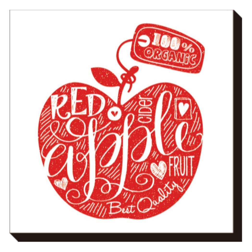 送料無料 正規認証品 新規格 Art Panel Mini Doodle インテリア パネル IAP-52112 60×6 美工社 キャンバスアートインテリア Red 限定価格セール 取寄品 Apple