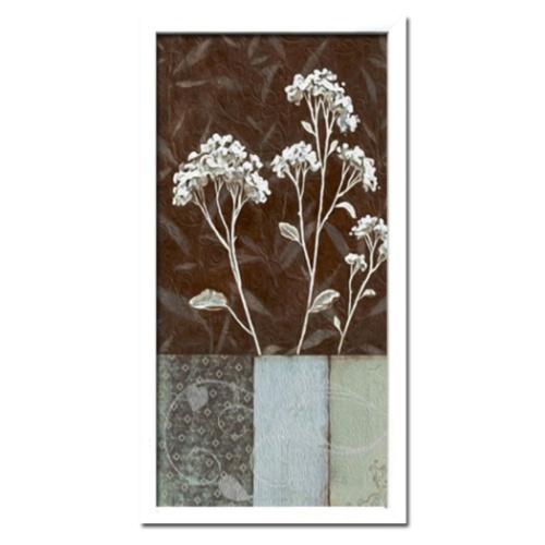 Interior Art フラワーアート インテリアアート IHD-52869 美工社 モノトーン シック 額付きインテリア 取寄品