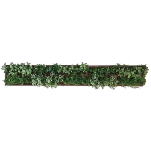 グリーンデコ ウォールグリーン Green Deco 10/BR 美工社 ZGD-52466 光触媒グリーンインテリア 取寄品