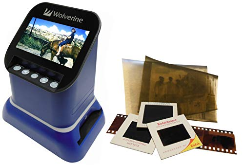 Wolverine F2DSATURN フィルムスキャナー ネガ デジタル化 35mm 120 127 Microficheフィルム スライド 高画質 2000万画素 120フィル
