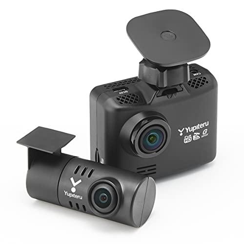 ユピテル 前後2カメラ ドライブレコーダー WDT510c シガープラグモデル 後方100万画素 人気ブレゼント 人気上昇中 前方200万画素 LED信号対応専用m ノイズ対策済
