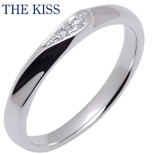 THE KISS シルバー ペアリング ( レディース 単品 ) ダイヤモンド ペアアクセサリー カップル に 人気 の ジュエリーブランド THEKISS ペア リング・指輪 記念日 プレゼント SR1639DM ザキス 【送料無料】