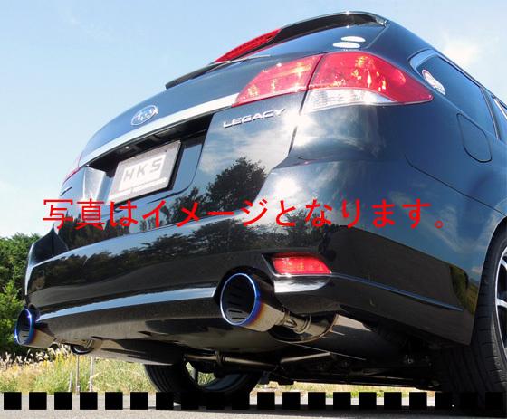 自動車関連業者直送限定 HKS スーパーターボ マフラー スバルレガシィツーリングワゴン BR9 EJ25(TURBO) 09/05-13/04 (31029-AF006)
