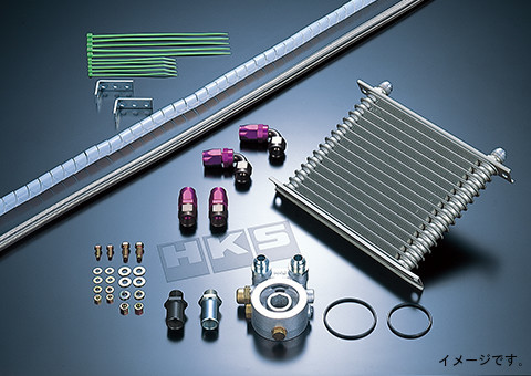 HKS OIL COOLER KIT オイルクーラーキット TOYOTA トヨタ 86 ZN6 FA20 12/04- S type (15004-AT010)