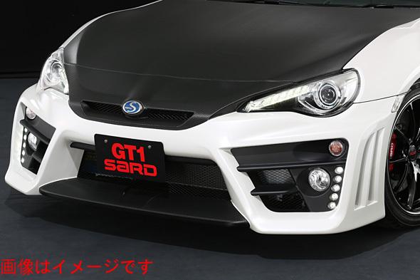 個人宅発送可能! サード SARD エアロ GT1 PERFORMANCE AERO フロントバンパー ダクト穴開けあり SUBARU スバル BRZ GT1 パフォーマンス エアロ (81026)