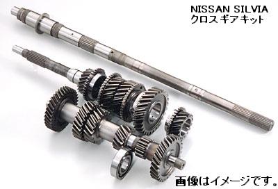 OS技研 OS クロスギアキット オーバーホール用品 O/H NISSAN シルビア SR20DET(FR)用 FS5W71C 5速クロス用 カウンターシャフト 単品