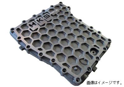 個人宅発送可能! HKS トランスミッション(GR6)用強化オイルパン NISSAN ニッサン GT-R R35 VR38DETT 07/12- (27001-AN001)