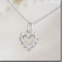 鑽石項鍊打開心白金產品 FJ-039 3 號業務天出貨的日曆