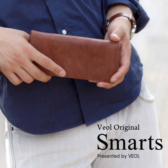 SMARTS 長財布 本革 財布 メンズ クリスマス プレゼント【50sp03】