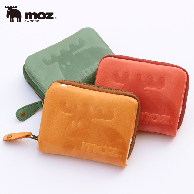 【moz】財布 レディース 二つ折り