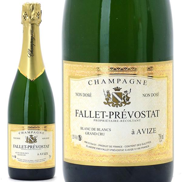 グラン クリュ ブラン ド ブラン ノン ドセ 箱なし 750mlファレ プレヴォスタ(シャンパン フランス シャンパーニュ)白泡 コク辛口 ワイン ^VAFP36Z0^