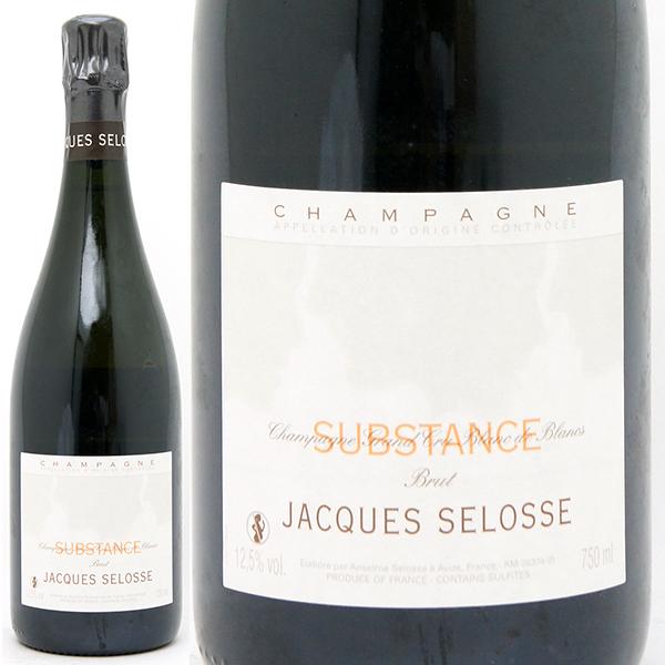 送料無料 ジャック セロス シュブスタンス グラン クリュ ブラン ド ブラン ブリュット 箱なし 750ml白シャンパン コク辛口 ワイン ^VAJSSBZ0^