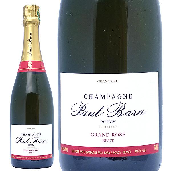 ポール バラ グラン クリュ ブジー グラン ロゼ ブリュット 750mlポール・バラ(シャンパン フランス シャンパーニュ)ロゼ泡 コク辛口 ^VAPB16Z0^