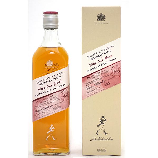 ジョニーウォーカー ブレンダーズバッチ ワインカスクブレンド 箱付 700ml正規品 スコッチウイスキー ^YCJWCBJ0^