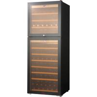 ワインセラー 最大107本用(木製棚11枚) ガラス扉 Wドア SW-126(SW126) ファンヴィーノ funVino Wドア (標準扉・収納本数最大107本)[送料無料]^ZHCEW126^