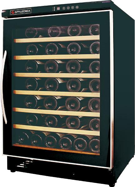 ワインクーラー 54本用(木製棚6枚) ガラス扉 SC-54(SC54) スタイルクレア STYLE CREA (標準扉・収納本数54本)[送料無料・設置料無料]^ZHSCSC54^