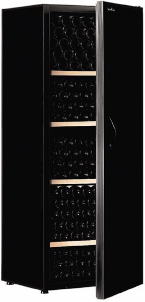 [送料・設置料無料] アルテビノ FG04 280本用(ウッド棚4枚) ノワール/黒 Arte Vino【ワインセラー】 (標準扉・収納本数280本) ^ZHAGFG04^