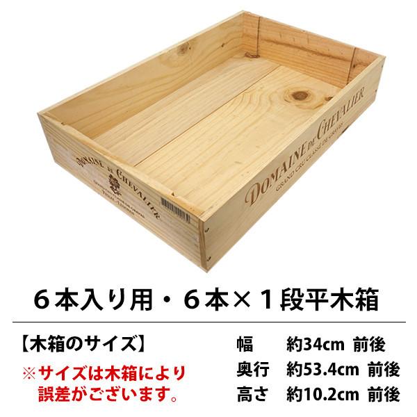 ワイン木箱 ○ ワイン 売店 木箱 6本入り用 ^ZNWOOD05^ 卓越 6本×1段