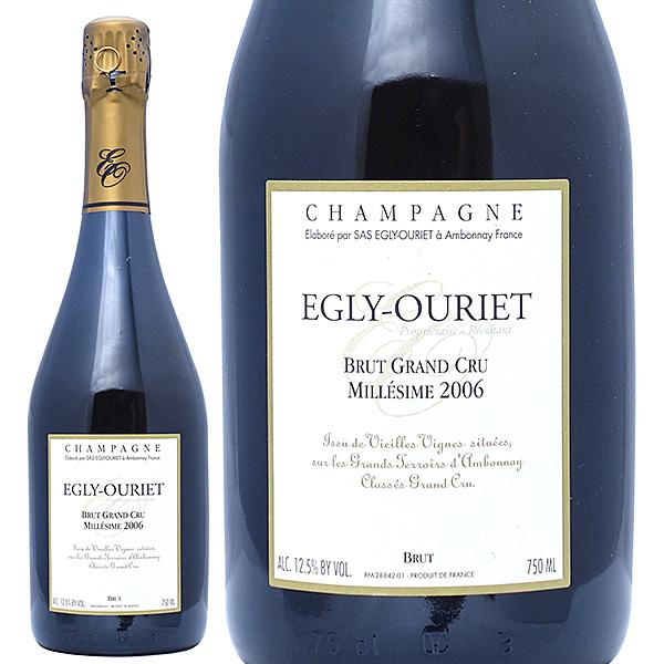 [2006] ブリュット グラン クリュ ミレジム 750ml (エグリ ウーリエ)(シャンパーニュ)白【シャンパン コク辛口】【ワイン】^VAEO36A6^