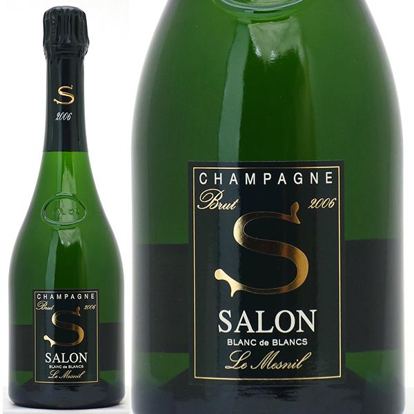 【送料無料】[2006] サロン ブラン ド ブラン ブリュット 並行品 750ml (シャンパーニュ)白【シャンパン コク辛口】^VASO06A6^