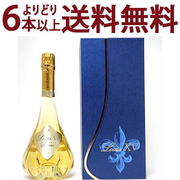[2006] ルイ キャーンズ (ルイ15世) ブリュット 750ml(ド ヴノージュ)(ドゥ ヴノージュ) 箱付 (シャンパーニュ)白泡【シャンパン コク辛口】【ワイン】^VAVG71A6^
