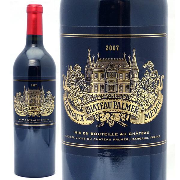 送料無料 2007 シャトー パルメ 750mlマルゴ-第3級 赤ワイン コク辛口 ワイン AB ^ADPP01A7^
