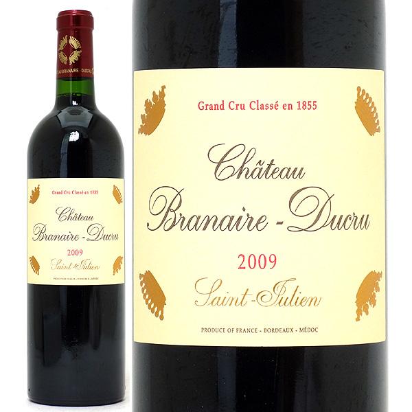 [2009] シャトー ブラネール デュクリュ 750ml (サンジュリアン第4級)赤ワイン【コク辛口】【ワイン】^ACBD01A9^