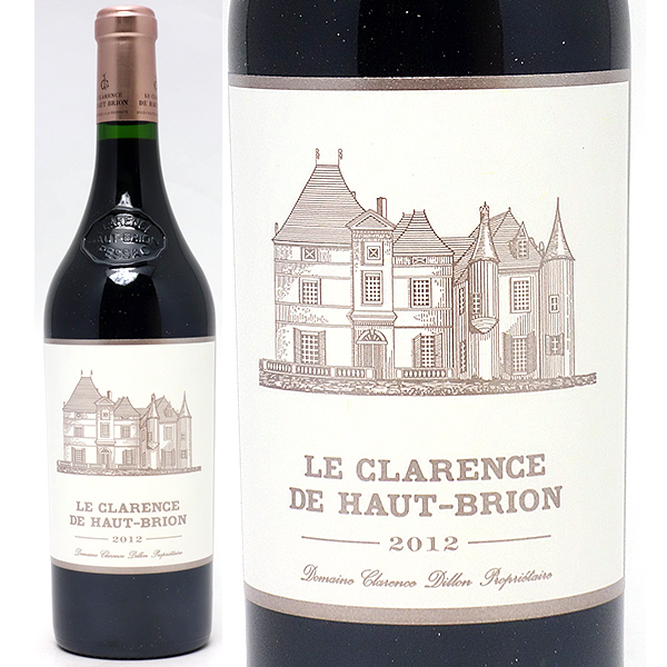 2012 ル クラレンス ド オー ブリオン 750mlペサック レオニャン 赤ワイン コク辛口 ワイン AB ^AIHB2112^