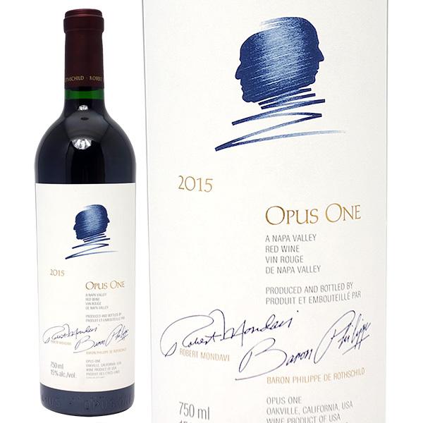 オーパスワン 2015 750ml 赤ワイン コク辛口 6本ご購入でワイン木箱付き 送料無料 ワイン ^QARM0115^
