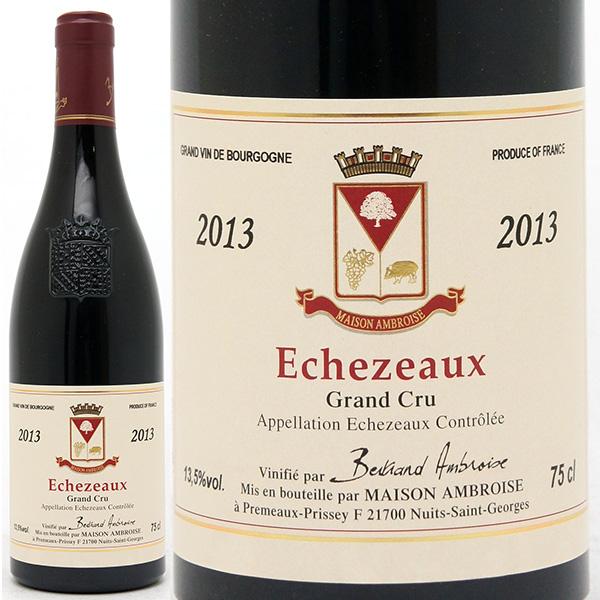 2013 エシェゾー 特級畑 750mlベルトラン アンブロワーズ 赤ワイン コク辛口 ワイン ^B0AMEZ13^