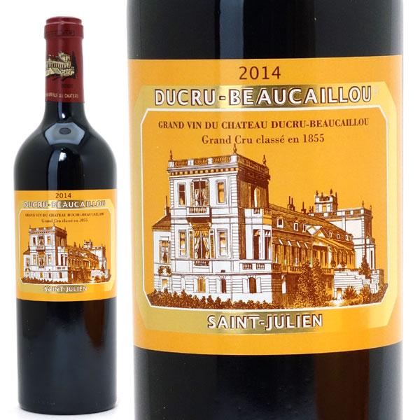 2014 シャトー デュクリュ ボーカイユ 750mlサンジュリアン第2級 赤ワイン コク辛口 ワイン AB ^ACRU0114^