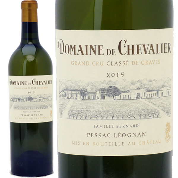[2015] ドメーヌ ド シュヴァリエ ブラン 750ml(グラーヴ特別級 ボルドー フランス)白ワイン コク辛口 ワイン ^AIDC1115^