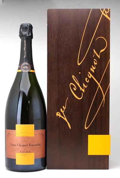 送料無料 ヴーヴ クリコ 1989 ポンサルダン ロゼ カーヴ プリヴェ マグナム ギフト木箱付 1500mlヴーヴ・クリコ シャンパーニュ ロゼシャンパン コク辛口 ワイン ^VAVC35ME^
