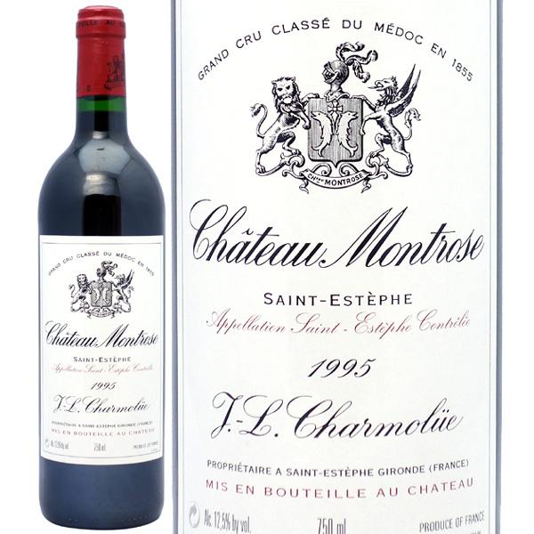 【送料無料】[1995] シャトー モンローズ 750ml(サンテステフ第2級)赤ワイン【コク辛口】【ワイン】^AAMT0195^